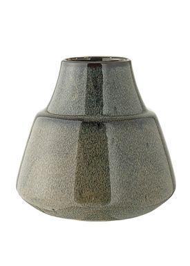 Bloomingville - Vase - Vase Blå Stentøj - Large