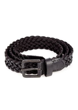 -  - Braid Belt Thin - Black