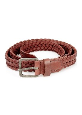 -  - Braid Belt Thin - Wine