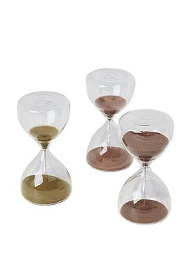 Broste CPH - Krea - Time glas - Light Red Small