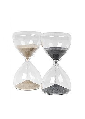 Broste CPH - Krea - Time glas - Grey Small