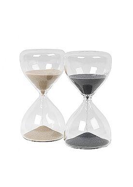 Broste CPH - Krea - Time glas - Grey Small