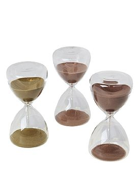 Broste CPH - Krea - Time glas - Light Red Large