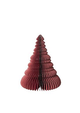 Broste CPH - Krea - Træ Med SølvGlitter - POMPEIAN RED