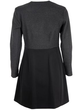 Bruuns Bazaar - Dress - Carla - Black/Charcoal Grey
