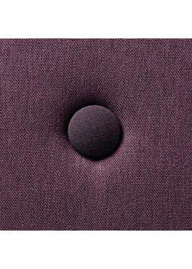 By KlipKlap - Madras - KK 4 fold w. buttons - Plum w. plum buttons