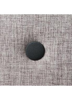 By KlipKlap - Madras - KK Square - Multi grey w grey buttons