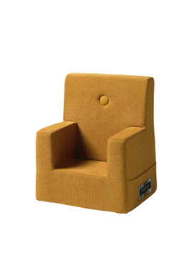By KlipKlap - Chair - KK Kids Chair - Mustard w mustard buttons