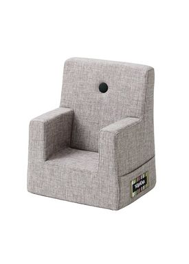 By KlipKlap - Stol - KK Kids Chair - Multi grey 520 w grey buttons