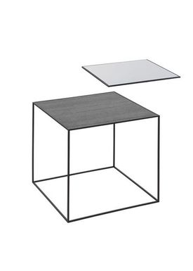 By Lassen - Bord - Twin 42 Table - Cool Grey/Sort Med Sort Base