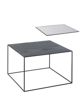 By Lassen - Bord - Twin 49 Table - Cool Grey/Sort Med Sort Base