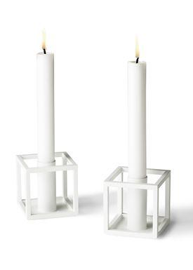 By Lassen - Lysestage - Kubus Lysestage - Kubus 1 Hvid