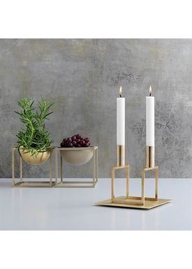 By Lassen - Candlestick - Line - Brass Line Base