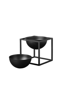 By Lassen - Bowl - Kubus Bowl Inlay - Black Small