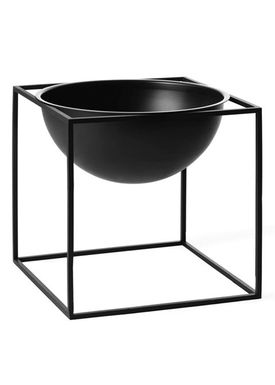 By Lassen - Bowl - Kubus Bowl - Black Large