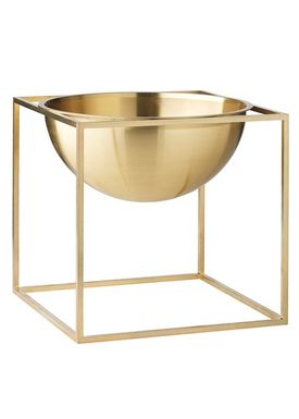 By Lassen - Bowl - Kubus Bowl - Brass Large