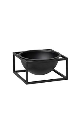 By Lassen - Bowl - Kubus Centerpiece - Black Small