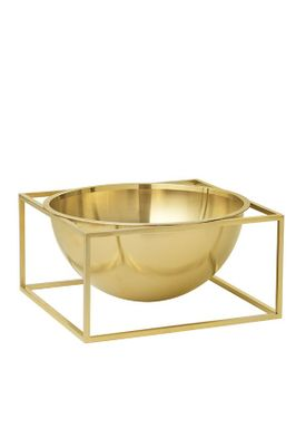 By Lassen - Bowl - Kubus Centerpiece - Brass Large