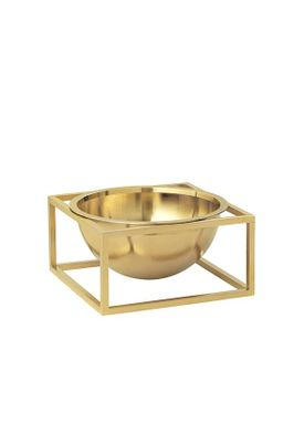 By Lassen - Bowl - Kubus Centerpiece - Brass Small