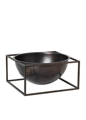 By Lassen - Bowl - Kubus Centerpiece - Burnished Copper Large