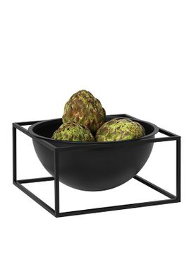 By Lassen - Bowl - Kubus Centerpiece - Black Large