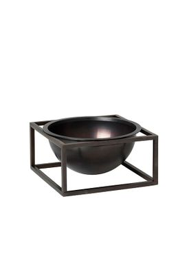 By Lassen - Bowl - Kubus Centerpiece - Burnished Copper Small
