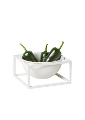 By Lassen - Bowl - Kubus Centerpiece - White Small