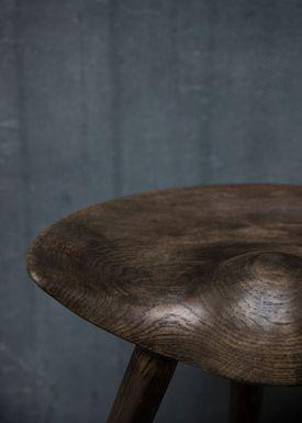 By Lassen - Pall - ML 42 Stool - Brown Oiled Oak