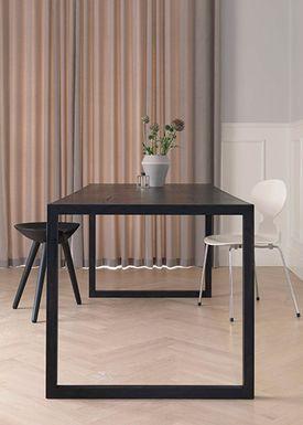 By Lassen - Spisebord - Conekt Dining Table - Sortbejdset Ask