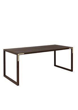 By Lassen - Spisebord - Conekt Dining Table - Røget Eg