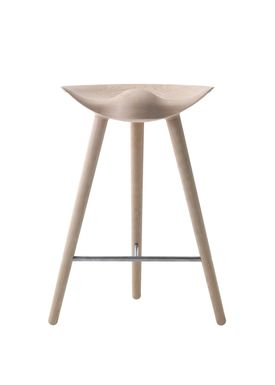 By Lassen - Chair - ML 42 Bar Stool - Low - Oak/Steel
