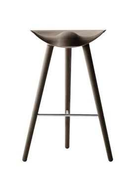By Lassen - Chair - ML 42 Bar Stool - High - Brown Oiled Oak/Steel