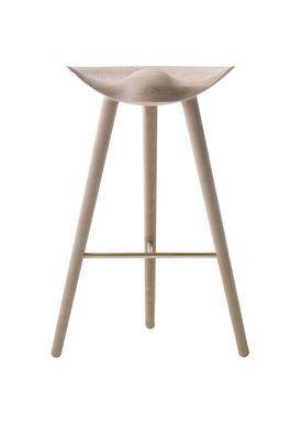 By Lassen - Chair - ML 42 Bar Stool - High - Oak/Brass