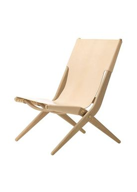 By Lassen - Stol - Saxe Chair - Oak/Natural Leather