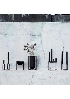 By Lassen - Vase - Kubus Vase - Lolo Black