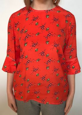 By Malene Birger - Bluse - Nolao - Fire