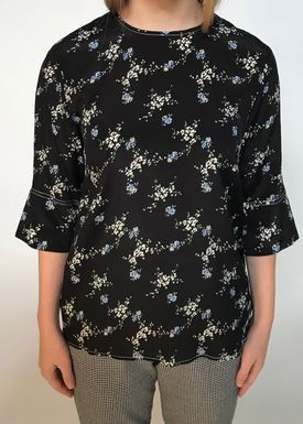 By Malene Birger - Bluse - Nolao - Black