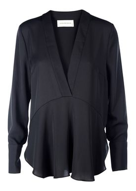By Malene Birger - Bluse - Dosiana - Sort