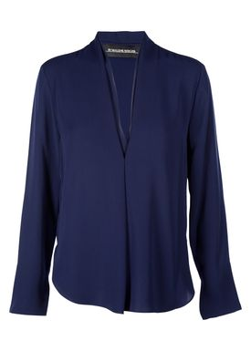 By Malene Birger - Bluse - Lipty - Midnight Heaven