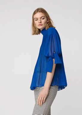 By Malene Birger - Blouse - Platta - Hyper Blue
