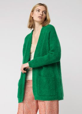 By Malene Birger - Cardigan - Belinta - Green Garden
