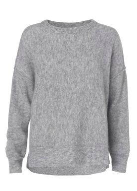 By Malene Birger - Cardigan - Biagio - Medium Grey Melange
