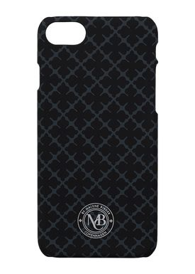 By Malene Birger - iPhone 7 cover - Pamsy7 - Charcoal Signature