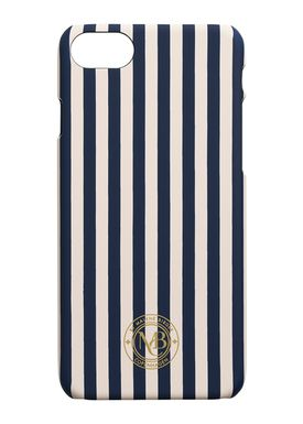 By Malene Birger - iPhone 7 cover - Pamsy7 - Nude/Navy Stripes