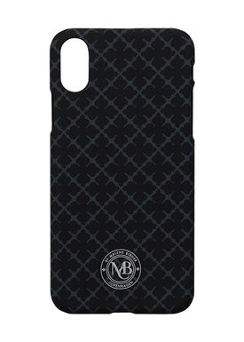 By Malene Birger - iPhone X/10 cover - PamsyX - Charcoal Signature