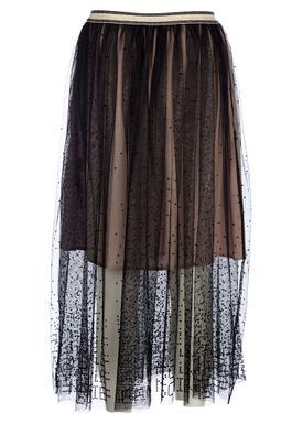 By Malene Birger - Skirt - Loish - Black/Nude