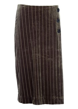 By Malene Birger - Skirt - Pronaso - Hunter (Velvet)