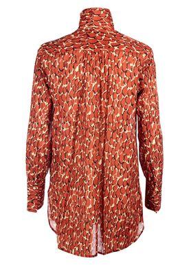 By Malene Birger - Skjorte - Abracca - Autumn Red