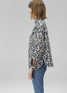 By Malene Birger - Skjorte - Serene - Casual Blue