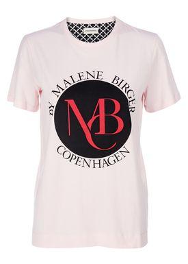 By Malene Birger - T-shirt - Aggitas - Lyserød